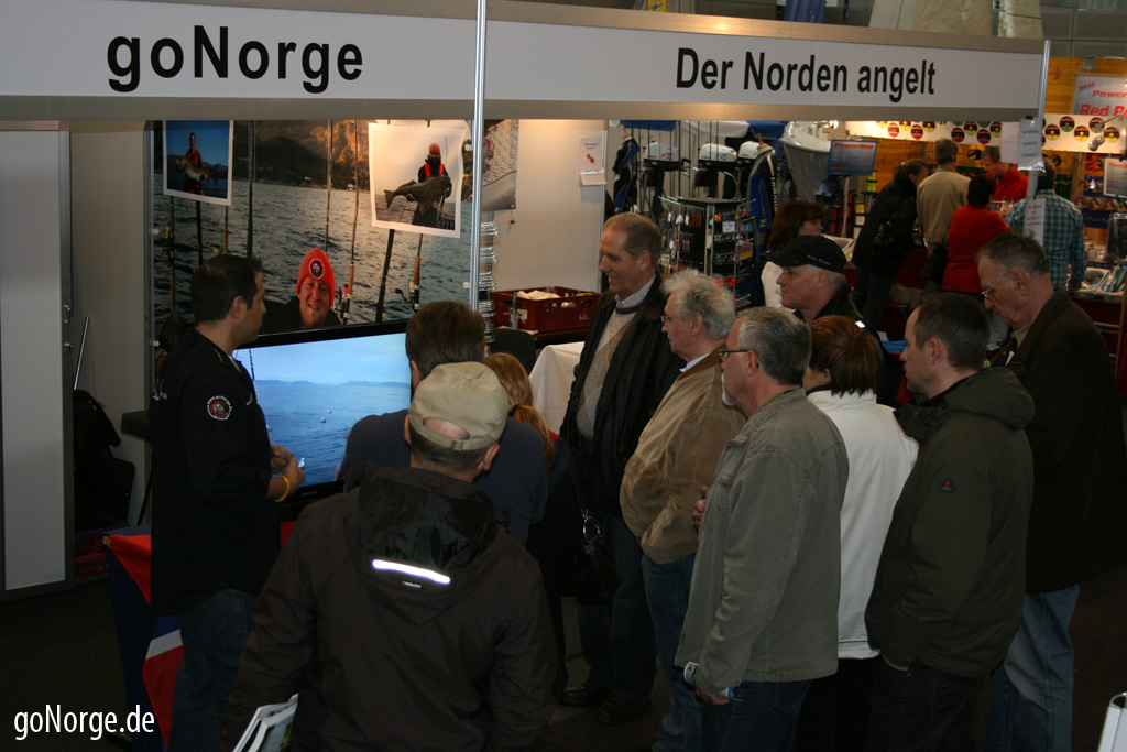 goNorge Messe Stand